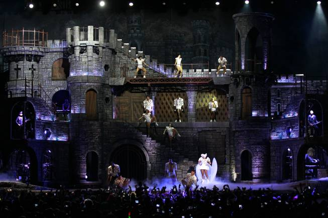 "Lady Gaga's ""Born This Way Ball"" tour."