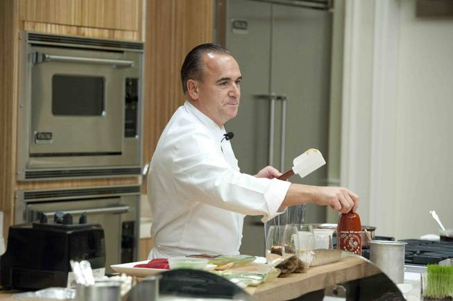 Chef Jean-Georges Vongerichten at the Bellagio on Saturday, Jan. 26, ...