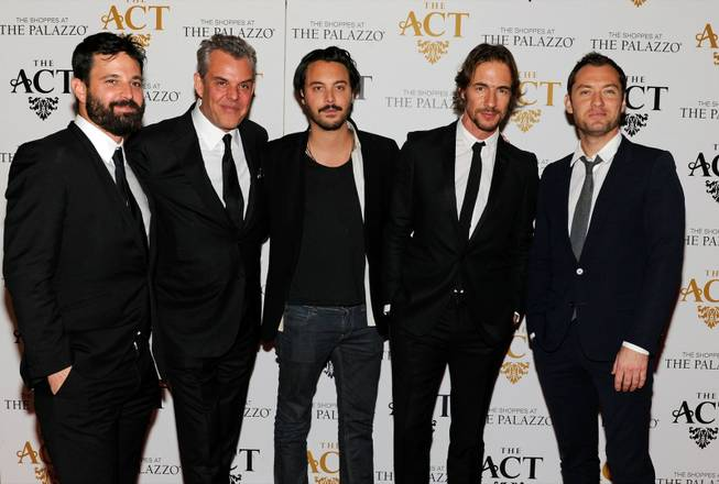 Simon Hammerstein, Danny Huston, Jack Huston, Thomas Hayo and Jude ...