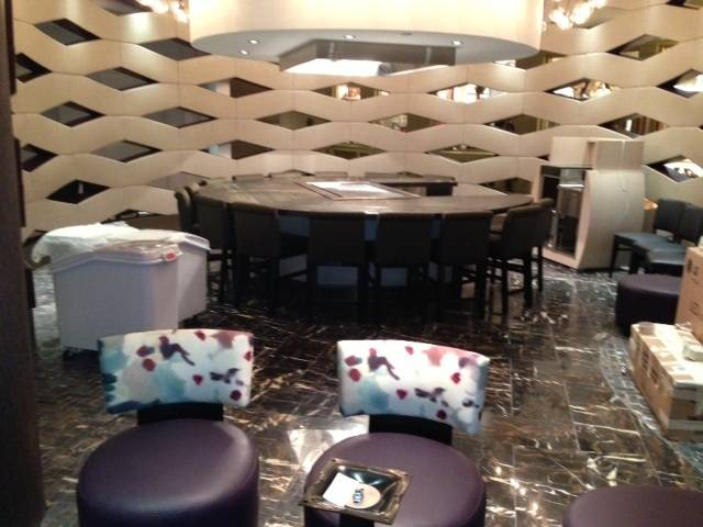 A tour of Nobu Hotel at Caesars Palace on Sunday, ...