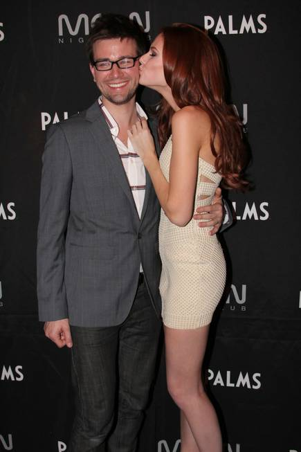Torrance Coombs and Alyssa Campanella at Moon in the Palms ...