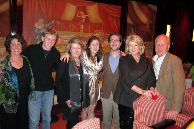 Martha Stewart visits the Wynn and Encore in Las Vegas ...