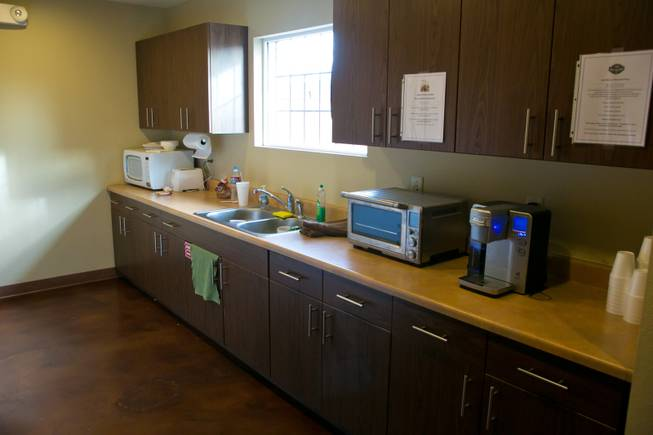 The William Fry Drop In Center has a full kitchen available to homeless youth, Tuesday Jan. 29, 2013.