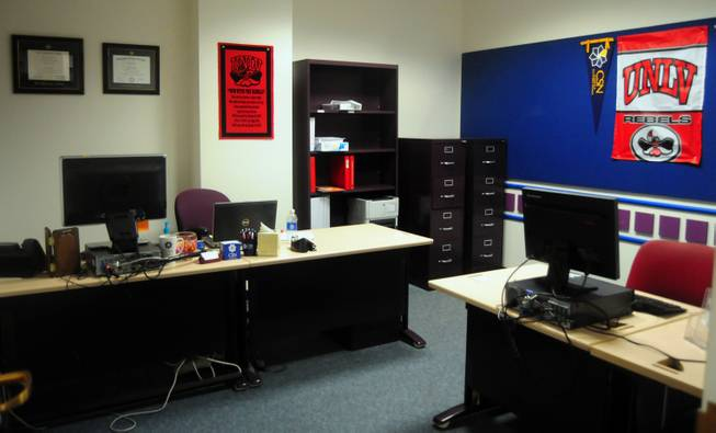 The UNLV/CSN Transfer Office is shown here inside the Student Services center at the College of Southern Nevada's Charleston campus on Tuesday, Jan. 29, 2013.