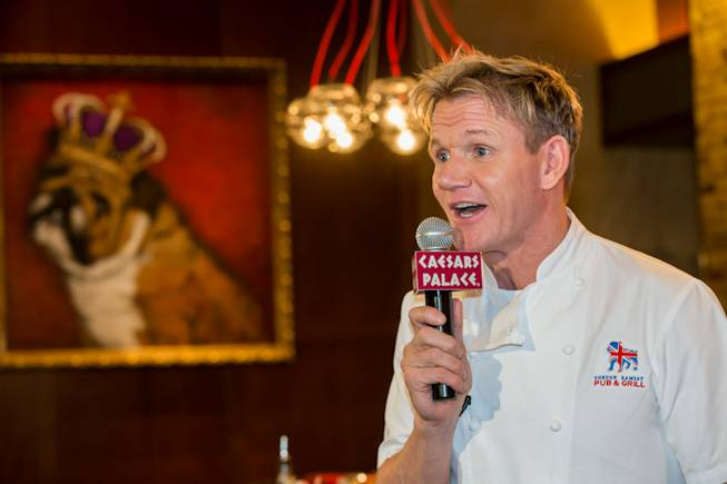 Gordon Ramsay hosts Sunday brunch at Gordon Ramsay Pub & ...