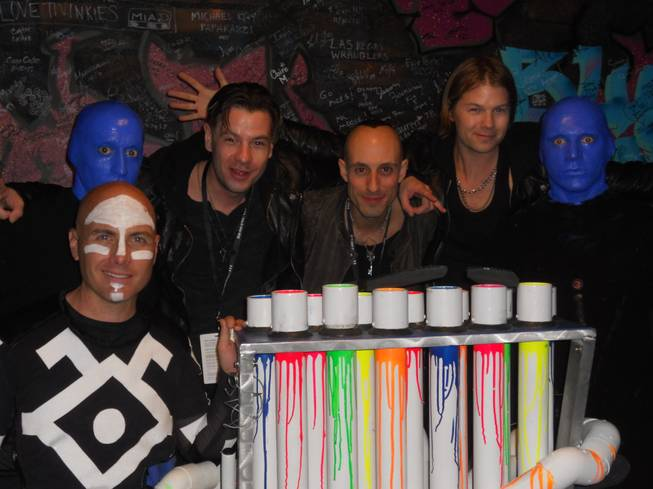 Street Drum Corps at Blue Man Group at the Monte Carlo on Friday, Jan. 25, 2013.
