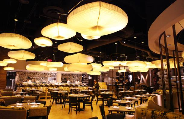 The new Nobu Hotel and Restaurant at Caesars Palace in Las Vegas on Friday, Feb. 1, 2013.
