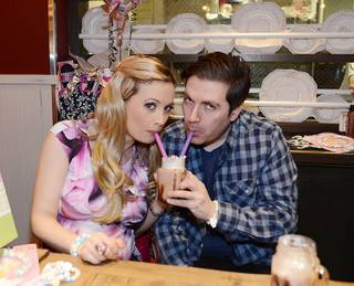 Holly Madison and Pasquale Rotella's baby shower at chef Carla Pellegrino's Meatball Spot in Town Square in Las Vegas on Saturday, Feb. 2, 2013.