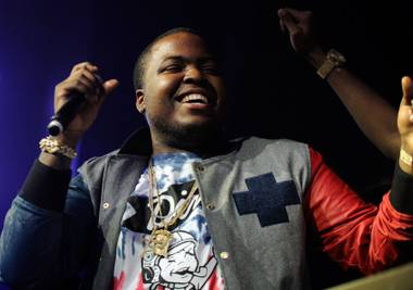 Sean Kingston celebrates his 23rd birthday at Chateau Nightclub in Paris Las Vegas on Friday, Feb. 1, 2013.