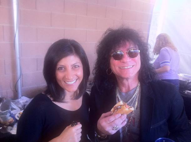 Dayna Roselli and Paul Shortino rock it out.