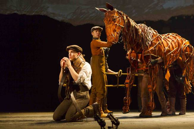 """War Horse"" is part of the Broadway Season 2 lineup at The Smith Center for the Performing Arts in Downtown Las Vegas."
