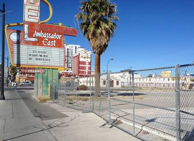 City leaders next week will consider plans to turn a vacant, three-acre lot on Fremont Street into the home of the Life Is Beautiful Festival, a Downtown Project-supported event scheduled for October.
