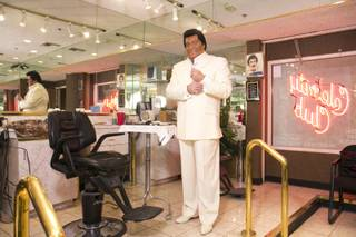Neil Scartozzi owns and operates Celebrity Club, a salon located inside the Riviera, Tuesday, Feb. 5, 2013.