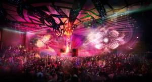 A rendering of the nightclub Light at Mandalay Bay.