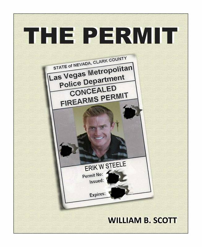 "The book cover design for ""The Permit"" written by William B. Scott."