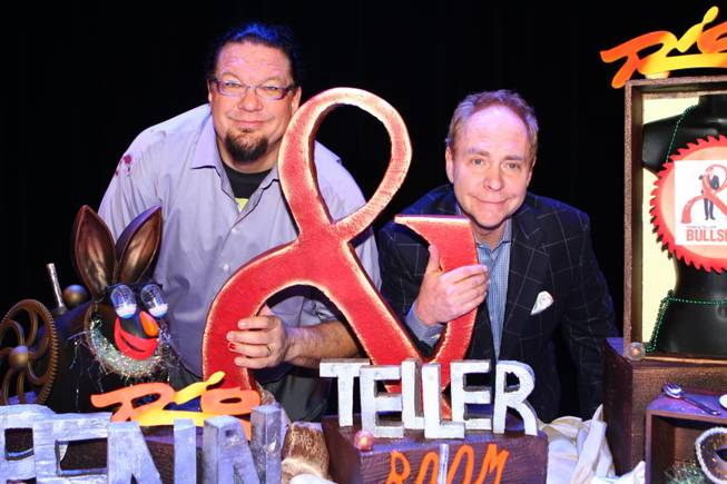 Penn & Teller's 20th-anniversary performance and celebration at The Rio ...