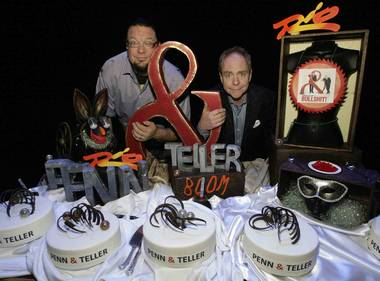 "Penn & Teller, Taylor Hicks and cast members of ""Jubilee!"" and ""Million Dollar Quartet"" were among the Caesars Entertainment stars today joining ..."
