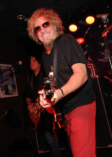 Cabo Wabo Cantina's third-anniversary party with owner and rocker Sammy ...