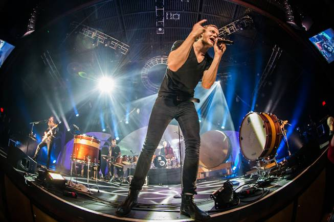 Imagine Dragons perform a sold-out concert at The Joint in ...