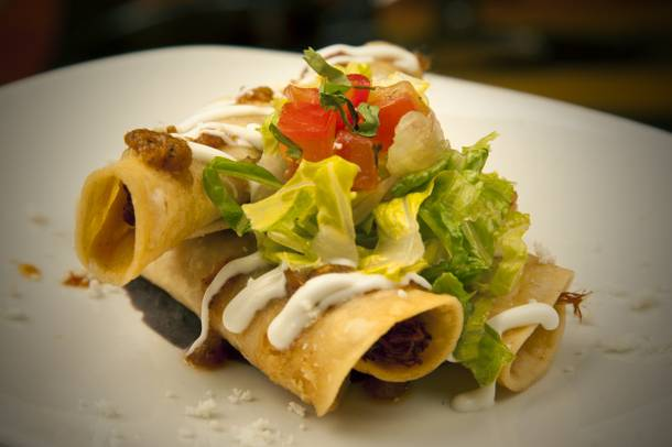 Flautas from Tacos & Tequila.