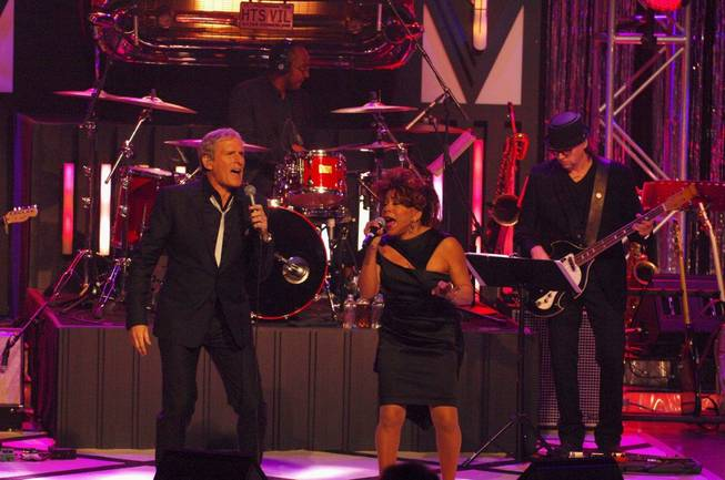 Michael Bolton in concert with Smokey Robinson, Martha Reeves, Valerie ...