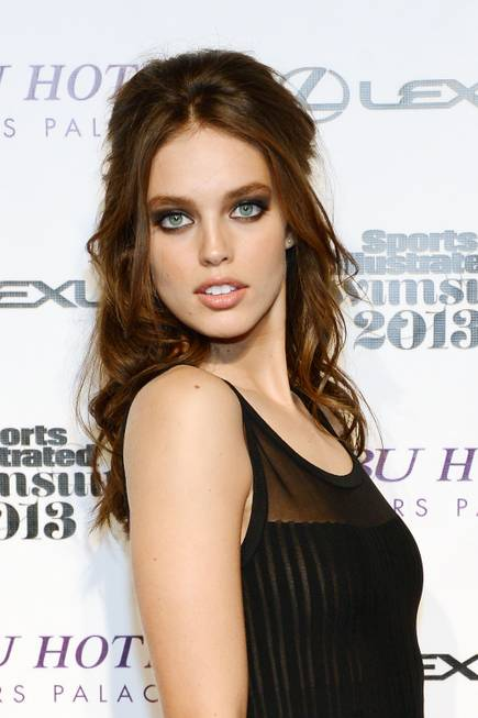 2013 Sports Illustrated Swimsuit Issue model Emily DiDonato arrives at ...