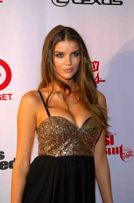 2013 Sports Illustrated Swimsuit Issue model Natasha Barnard at 1OAK ...