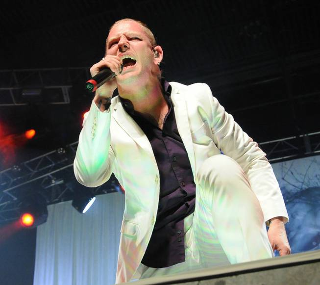 Stone Sour, featuring frontman Corey Taylor of Slipknot, performs at ...