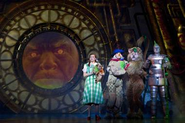 """The Wizard of Oz"" is part of the Broadway Season 2 lineup at The Smith Center for the Performing Arts in Downtown Las Vegas."