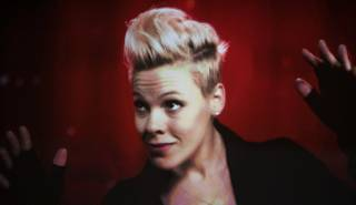 Pink performs at Mandalay Bay Events Center as part of her
