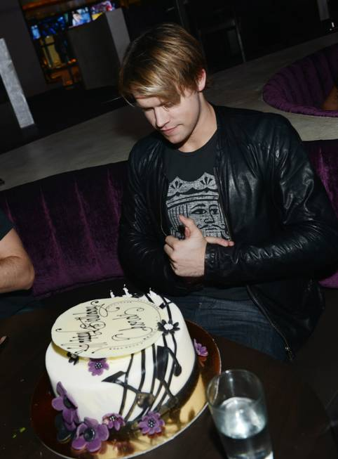 Chord Overstreet celebrates his 24th birthday at Heraea in Palms ...