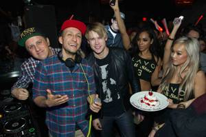 Chris Paul, Chord Overstreet, Whitney Port at Lavo
