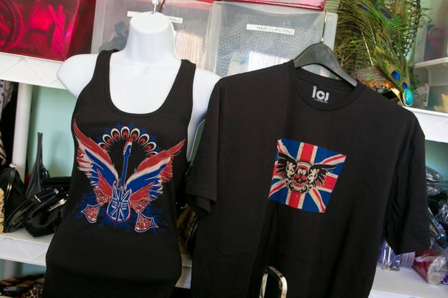 A look at some of the tshirt designs by local designer Clair Vranian, Monday, Feb. 18, 2013.