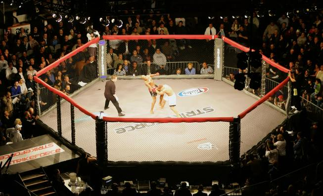 Strikeforce cage