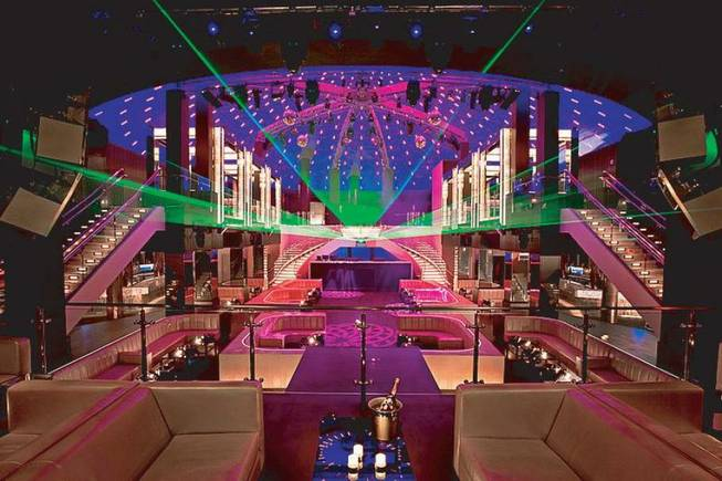 The interior of LIV nightclub in Miami Beach, Fla.