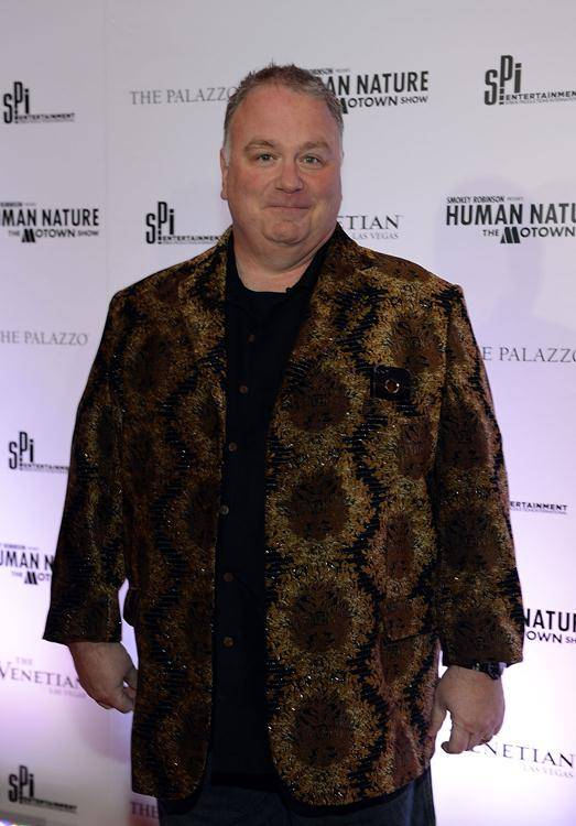 "Kevin Burke arrives at the grand opening of ""Smokey Robinson Presents Human Nature: The Motown Show"" at The Venetian on Friday, Feb. 22, 2013."