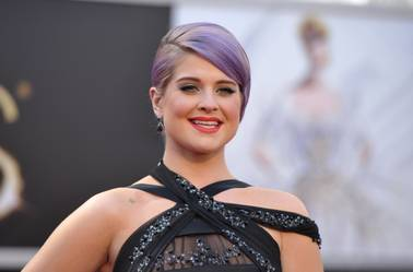 TV personality Kelly Osbourne arrives at the 85th Academy Awards at the Dolby Theatre on Sunday, Feb. 24, 2013, in Los Angeles.