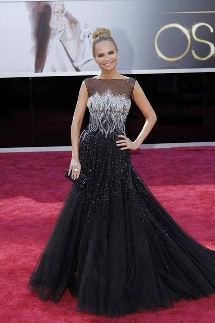 Kristin Chenoweth at the 85th Academy Awards at Dolby Theater in Hollywood on Sunday, Feb. 24, 2013.