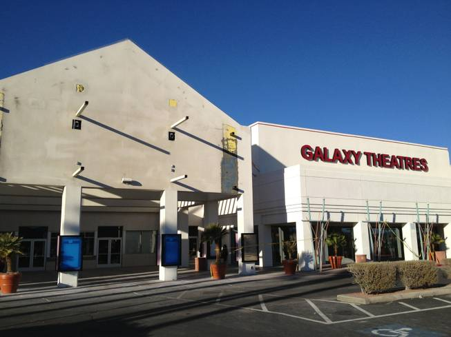 Galaxy Green Valley Luxury+ Theatre is scheduled to open March 8 in Green Valley Town Center on East Sunset Road. Workers were still preparing the site as of Tuesday, Feb. 26, 2013.