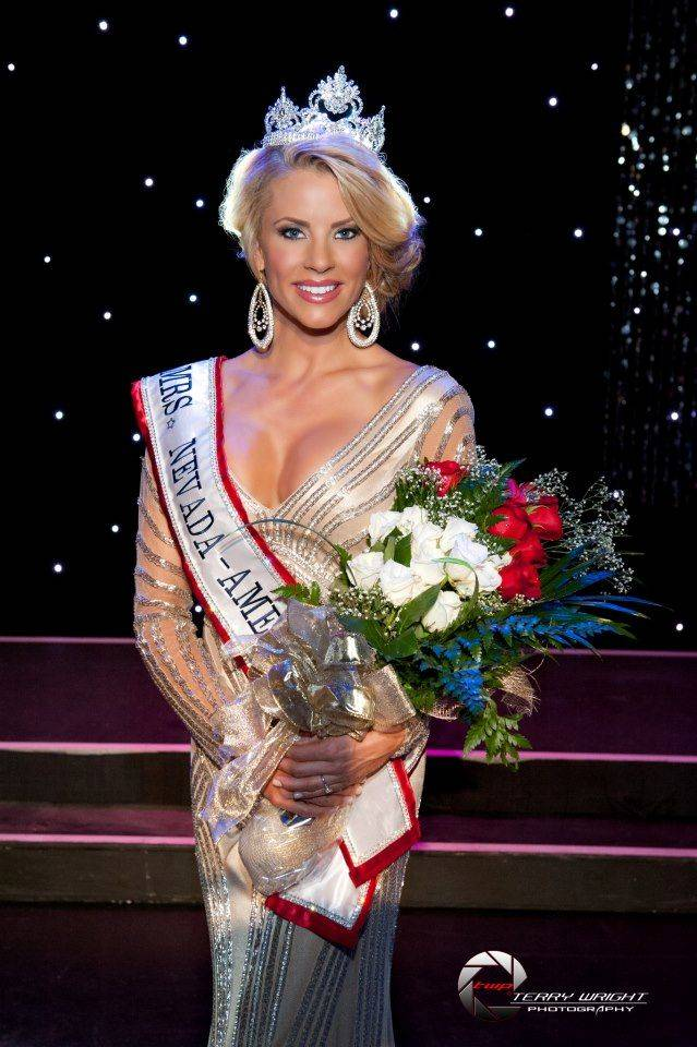 2013 Mrs. Nevada America Ruth Gray.