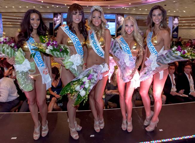 The 2013 Tropic Beauty Model Search world finals at MGM ...