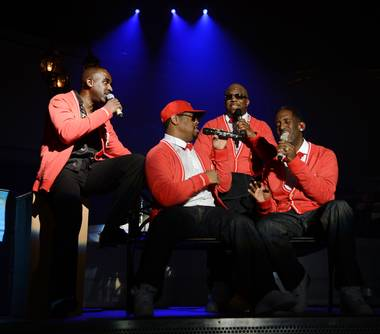 Boyz II Men's premiere Friday night at The Mirage turned into a wild party and concert as ladies by the dozens rushed the stage to grab the group's ...