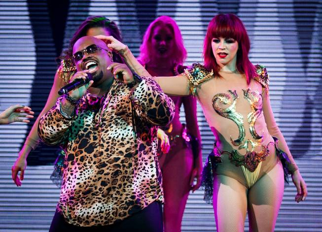 "The official opening night of ""CeeLo Green Is Loberace"" at Planet Hollywood on Saturday, March 2, 2013."