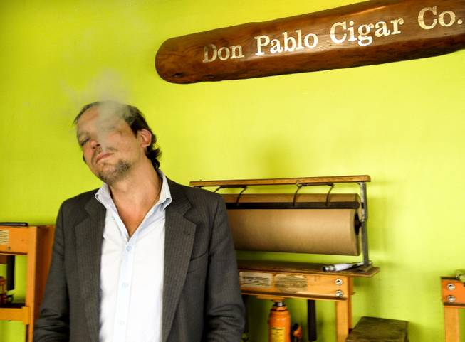 Eric Boye, owner of Don Pablo Cigar Co., Wednesday, Mar. 6, 2013.