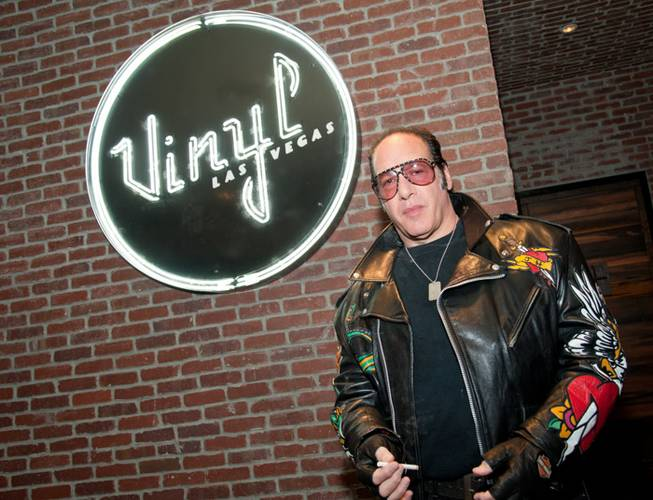 A memorabilia display for Andrew Dice Clay is unveiled at ...