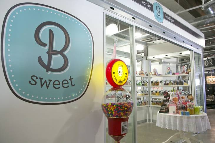 The B Sweet candy boutique at Tivoli Village, Thursday March 14, 2013.
