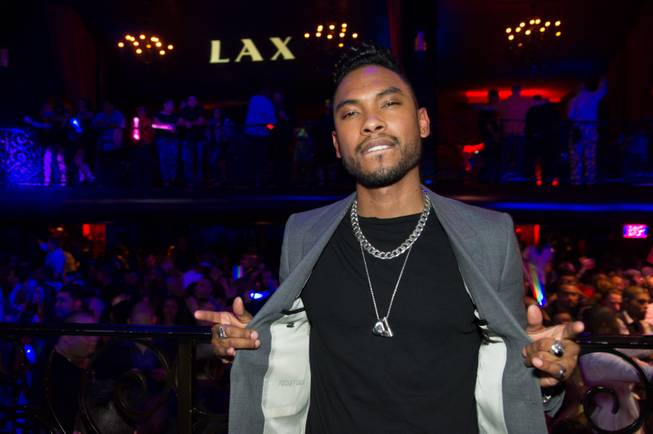 Miguel hosts and performs at LAX in Luxor after opening ...