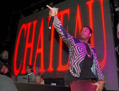 Jeremih hosts and performs at Chateau Nightclub in Paris Las Vegas on Saturday, March 16, 2013.