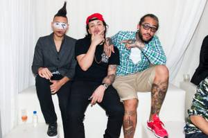 Travie McCoy Hosts and Performs at Pure