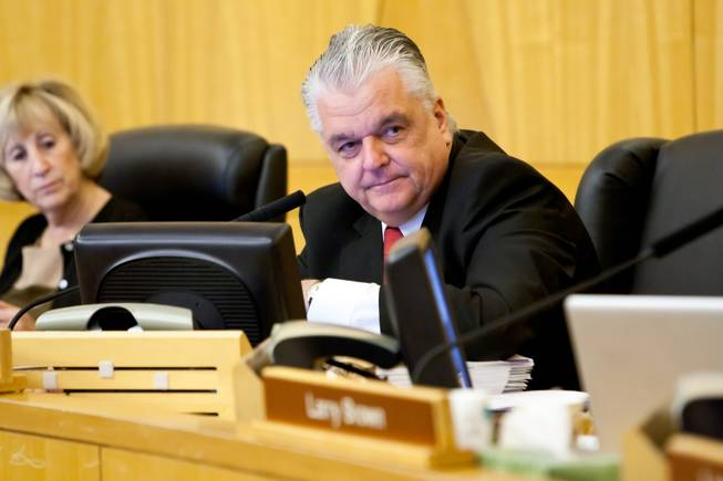 Clark County Commissioner Steve Sisolak